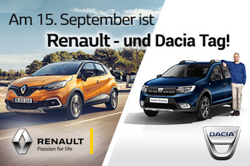 Renault & Dacia Tag 15. September 2018